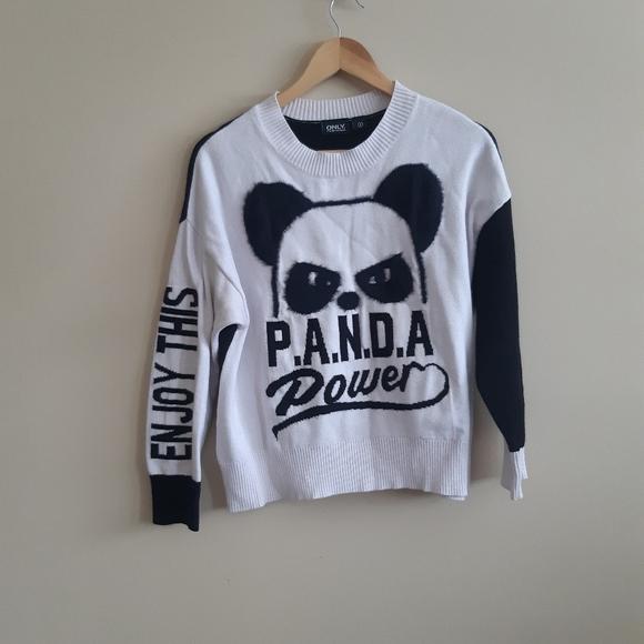 Only streetwear | Panda power sweater